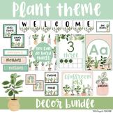 Plant Theme Classroom Decor Bundle