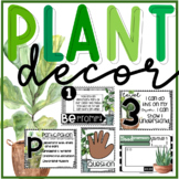 Back to School Plant Theme Classroom Decor Products Growin