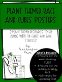 Plant Themed CUBES and RACE Posters