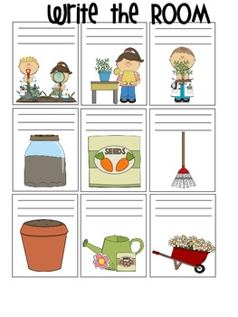 Plant Themed Write the Room