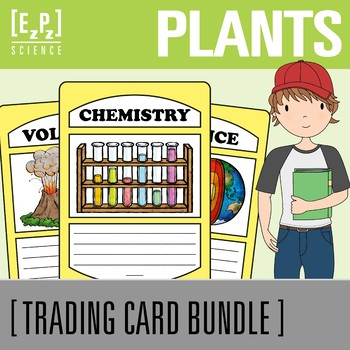 Plant Trading Cards Bundle