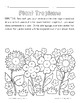 Plant Tropisms: Phototropism, Geotropism, & Thigmotropism Color-by-Number