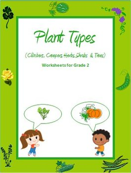 Plant Types - Climbers, Creepers, Herbs, Shrubs and Trees