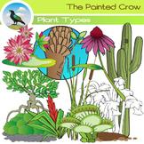 Plant Clip Art - Types and Habitats