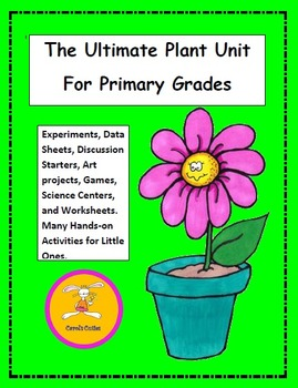 Plant Unit Activities -  A Plant Unit for Preschool, Kinde
