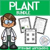 Plant Worksheets Bundle