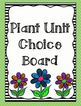 Plant Unit Choice Board