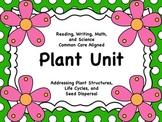 Plant Unit (ELA and Math Common Core Aligned)