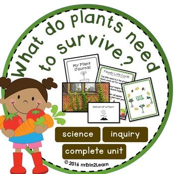 NGSS Plant Unit Kindergarten First Grade