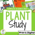 Plant Unit (Lessons, Worksheets, Assessments, Game, Bullet