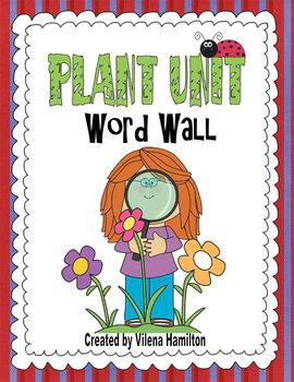 Plant Unit. Word Wall.