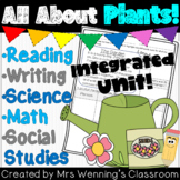 Integrated Plants Unit for 1st or 2nd Grade!