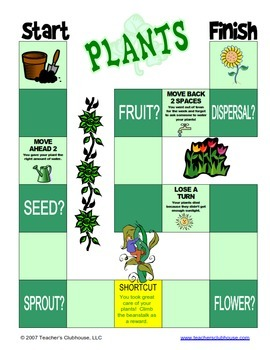 Plant Unit from Teacher's Clubhouse
