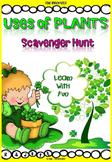 Plant Uses - Scavenger Hunt Activity