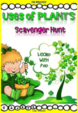 Plant Uses - Scavenger Hunt Activity