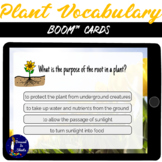 Plant Vocabulary BOOM Cards