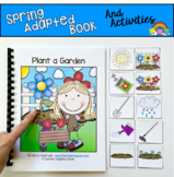 Plant a Garden Adapted Book