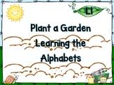 Plant a Garden Learning Alphabet  Ll
