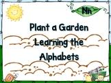 Plant a Garden Learning Alphabet  Nn