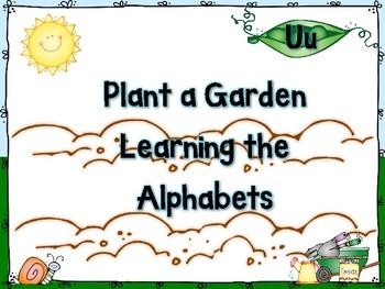 Plant a Garden Learning Alphabet  Uu