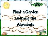 Plant a Garden Learning Alphabet  Ww