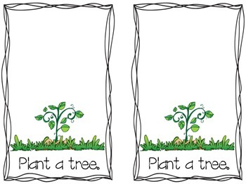 Plant a Tree for Arbor Day Booklet