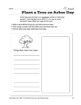 Plant a Tree on Arbor Day
