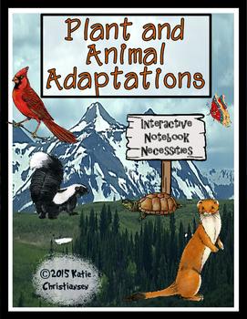 Plant and Animal Adaptations - 4.5
