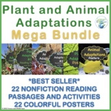Plant and Animal  Adaptations BUNDLE!