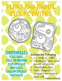 Plant and Animal Cell Activites