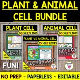 Plant and Animal Cell Activities BUNDLE for GOOGLE SLIDES