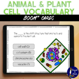 Plant and Animal Cell BOOM Cards