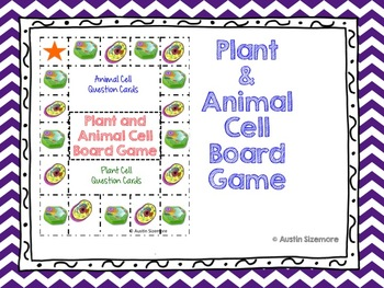 Plant and Animal Cell Board Game