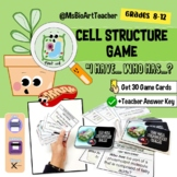 """Plant and Animal Cell Game-""""I have..., Who has...?"""""""