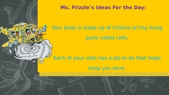 Plant and Animal Cell Organelles (Magic School Bus Themed)