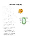 Plant and Animal Cell Poem