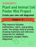 Plant and Animal Cell Poster Mini Project