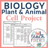 Plant and Animal Cell Project