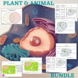 Plant and Animal Cell Study Bundle