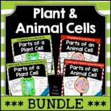 Plant and Animal Cell Worksheets & Puzzles - BUNDLE | Dist