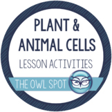 Plant and Animal Cells Activity Pack