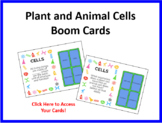 Plant and Animal Cells Boom Cards