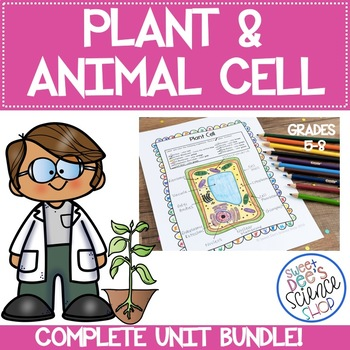 Plant and Animal Cells Complete Unit