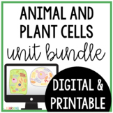 Plant and Animal Cells Unit {Lesson, Interactive Notes, Assessment)