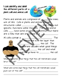 Plant and Animal Cells PowerPoint and Notes Pages
