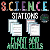 Plant and Animal Cells - S.C.I.E.N.C.E. Stations - Distance Learning Compatible