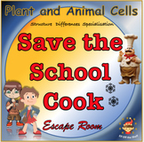 Plant and Animal Cells - Save the Cook Escape Room