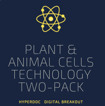 Plant and Animal Cells Technology Two Pack