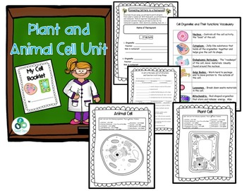 Plant and Animal Cells Unit Bundle