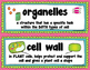 Plant and Animal Cells Vocabulary Cards for Word Wall include pictures & meaning
